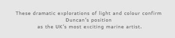 A personal quote from the artist Duncan Macgregor
