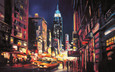 New York Nights II by Csilla Orban