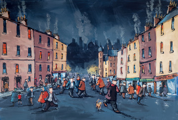 On the Town III by George Somerville