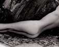 Nude and Rock 1985 by John Swannell