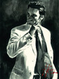Study for Marcus in White (Deluxe) by Fabian Perez