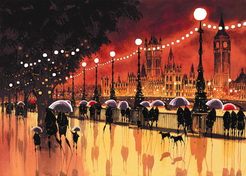 Reflections in the Lamplight by Peter J Rodgers