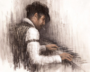 Piano Man by Remi Labarre