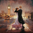 Romance in the City I by Mark Spain