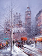 Snow in the City by Henderson Cisz
