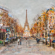 Boulevard Boules by Tom Butler