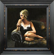 Sally on the Couch by Fabian Perez
