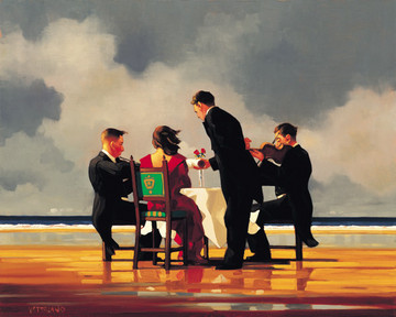 Elegy for the Dead Admiral (Large) by Jack Vettriano