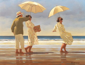 The Picnic Party  (Small) by Jack Vettriano