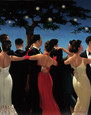 Waltzers (Small) by Jack Vettriano