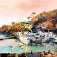 Catch of the Day, Polperro by Tom Butler