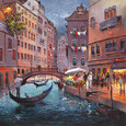Venice by Night by Henderson Cisz