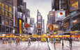 Times Square Morning by Henderson Cisz