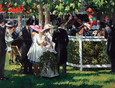 Ascot Race Day I by Sherree Valentine Daines