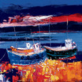 Beached Boats by John Lowrie Morrison