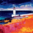 The Lighthouse, Loch Indaal by John Lowrie Morrison