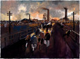 Wheels of Industry by Malcolm Teasdale