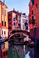 Reflections of Venice II by Peter Wileman