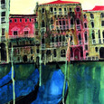 Colours of Venice III by Susan Brown