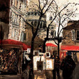 Montmartre I by Susan Brown