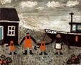 Fisherman and his Family by Gary Bunt