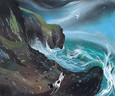 At Dancing Ledge by Nicholas Hely Hutchinson